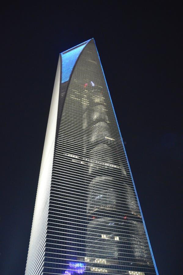 Szanghaj światu centrum finansowe zdjęcie royalty free