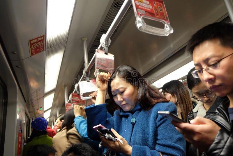 Szanghaj metro zdjęcia royalty free