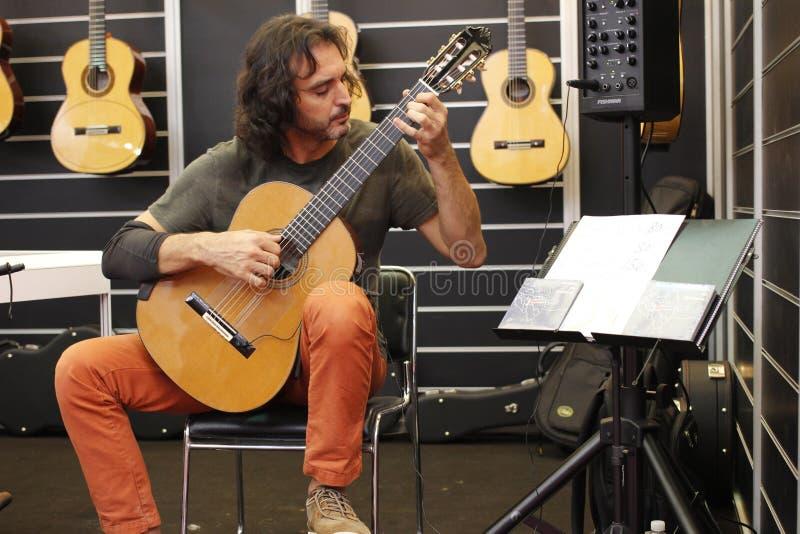 2014 Szanghaj Międzynarodowi instrumenty muzyczni Powystawowi zdjęcie stock