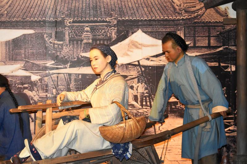 Szanghaj Muzeum, Chiny zdjęcie royalty free