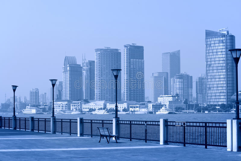 Szanghaj Pudong, park fotografia royalty free