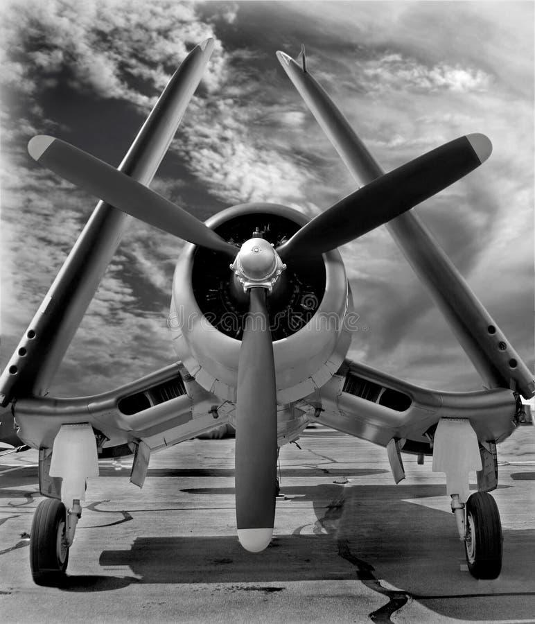 F4U Corsair: Orężny i Niebezpieczny zdjęcia stock