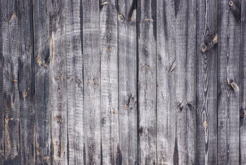 Szara drewniana tekstura stare być ubranym deski w ścianie ogrodzenie obraz royalty free