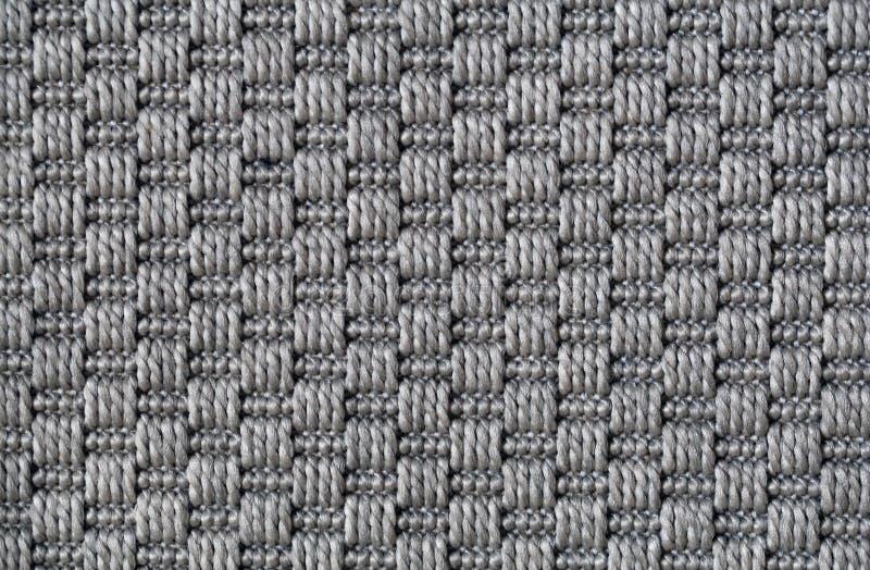 Szara Dywanowa tekstura w zbliżeniu obrazy royalty free