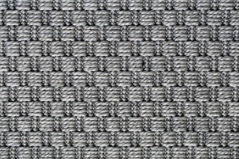 Szara Dywanowa tekstura w zbliżeniu zdjęcia stock