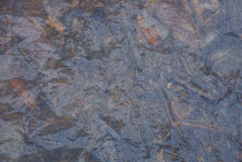 Szara plastikowa tekstura mokry celofan obrazy royalty free