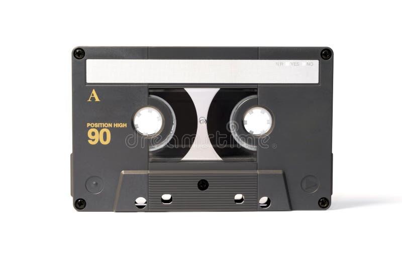 Szara rocznik audio kasety taśma zdjęcie stock