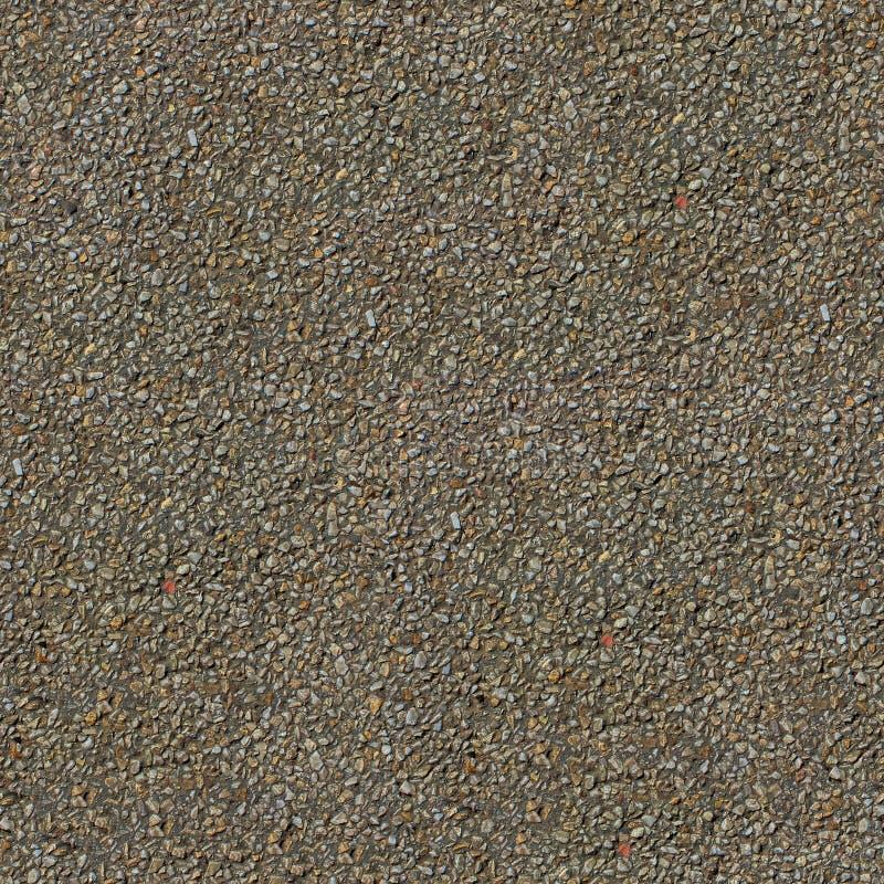 Szarej żwir płytki bezszwowa tekstura lub tło obrazy royalty free