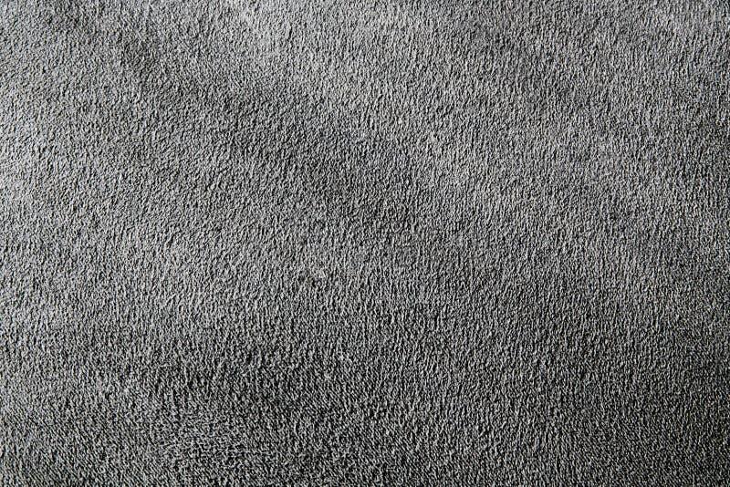 Szarej tkaniny tekstury szorstki tło obraz stock