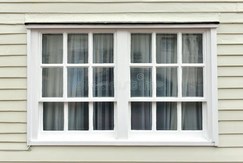 Szarfy okno zdjęcia stock
