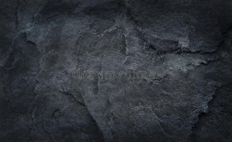 Szarość lub czerni kamienna tekstura, natura wzory dla tła zdjęcia royalty free
