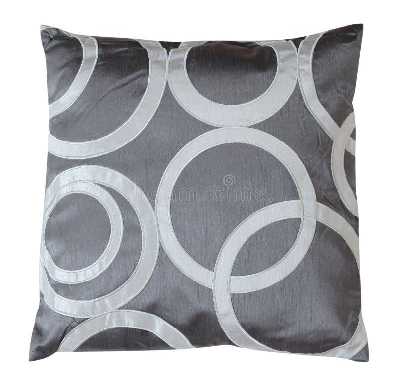 szarość odizolowywająca poduszka zdjęcie royalty free