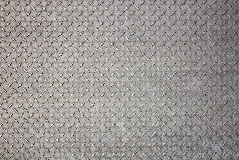 Szarość Textured metal fotografia stock