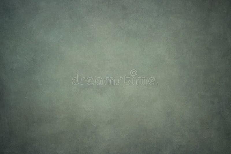 Szarości brezentowy lub muślinowy zieleń malujący tło obraz stock