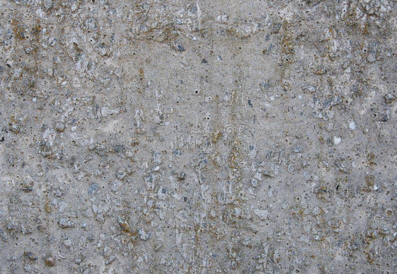 Szarości tekstury betonowy tło pęknięcia obraz stock
