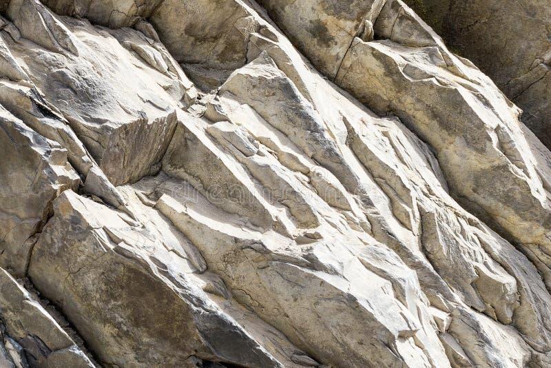 Szaro?ci kamienna tekstura Rockowe warstwy Bacground obrazy stock