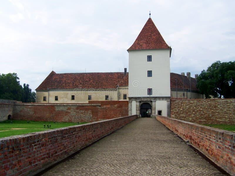 szarvas замока стоковая фотография