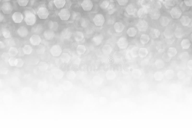 Szary abstrakcjonistyczny bokeh wzór fotografia stock