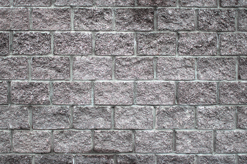 Szary brickwork obraz royalty free
