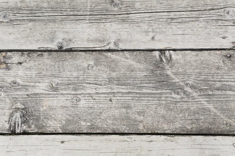 Szary drewniany dok zdjęcia royalty free