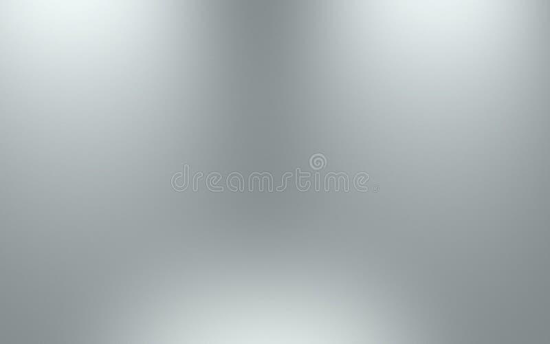 Szary gradientowy abstrakcjonistyczny tło Popielaty tło fotografia royalty free