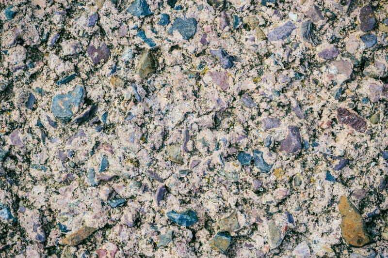 Szary grunge ściany kamienia tło lub tekstury skała obraz royalty free