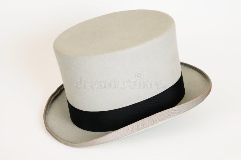 Szary kapelusz fotografia royalty free