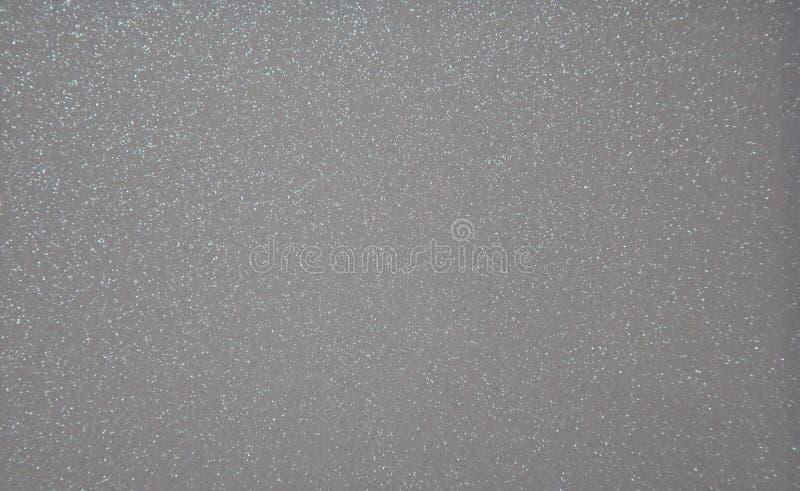 Szary pearlescent przejrzysty tło z metali pluśnięciami Tło struktura Zakończenie zdjęcie royalty free