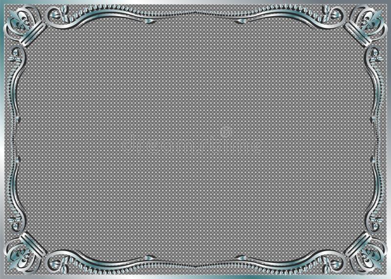 Download Szary tło ilustracja wektor. Obraz złożonej z kopia, korona - 26454254