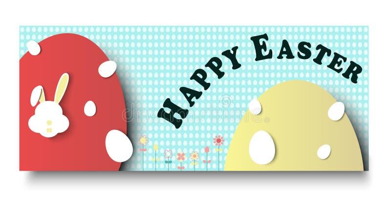 Szczęśliwy Wielkanocny dnia tło fotografia royalty free