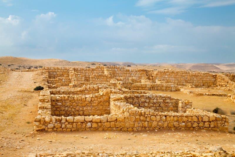 Szczątek rzymianin koszaruje w pustyni fotografia royalty free