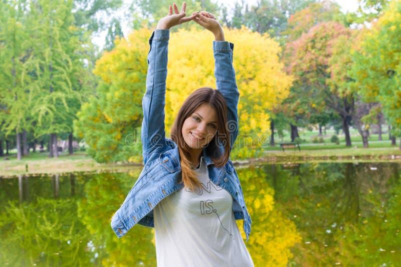 Szczęście i natura zdjęcie royalty free