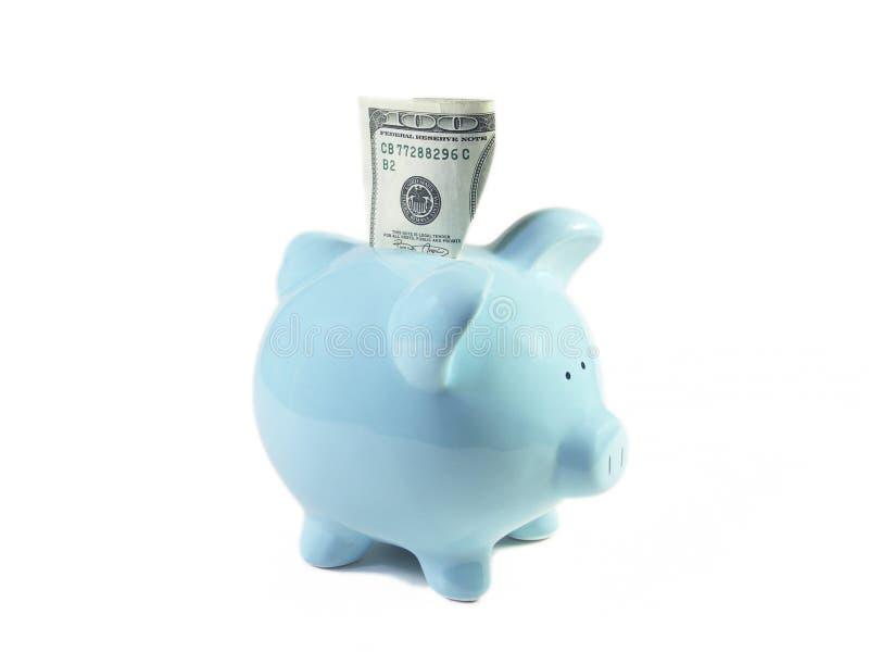 szczęśliwa świnko banku obraz royalty free