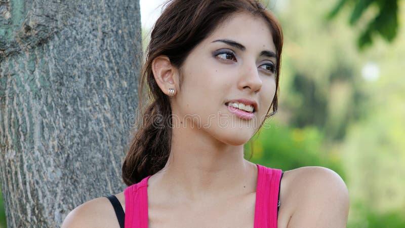 Szczęśliwa Atrakcyjna Różnorodna Żeńska kobieta fotografia royalty free