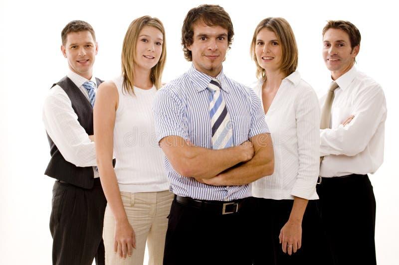 szczęśliwa biznesowej zespołu zdjęcia royalty free