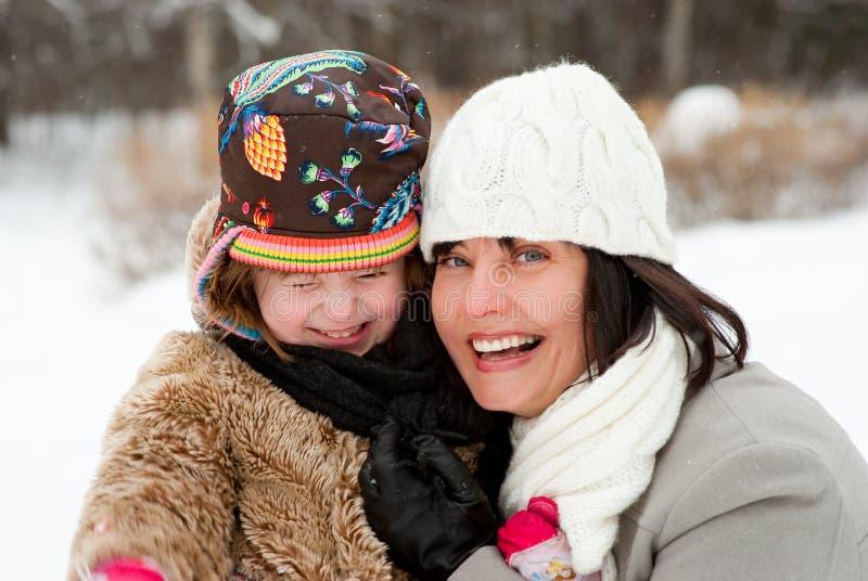 szczęśliwa córki matka zdjęcie stock