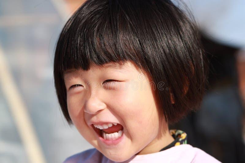 szczęśliwa chińska dziewczyna zdjęcie royalty free
