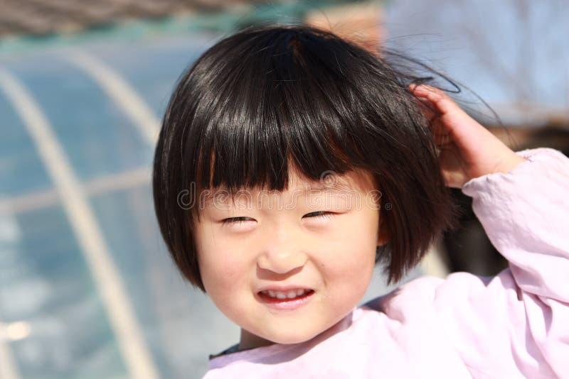 szczęśliwa chińska dziewczyna zdjęcia stock