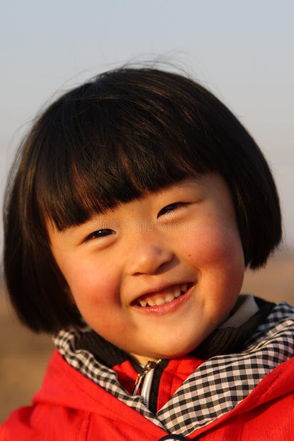 szczęśliwa chińska dziewczyna obraz stock