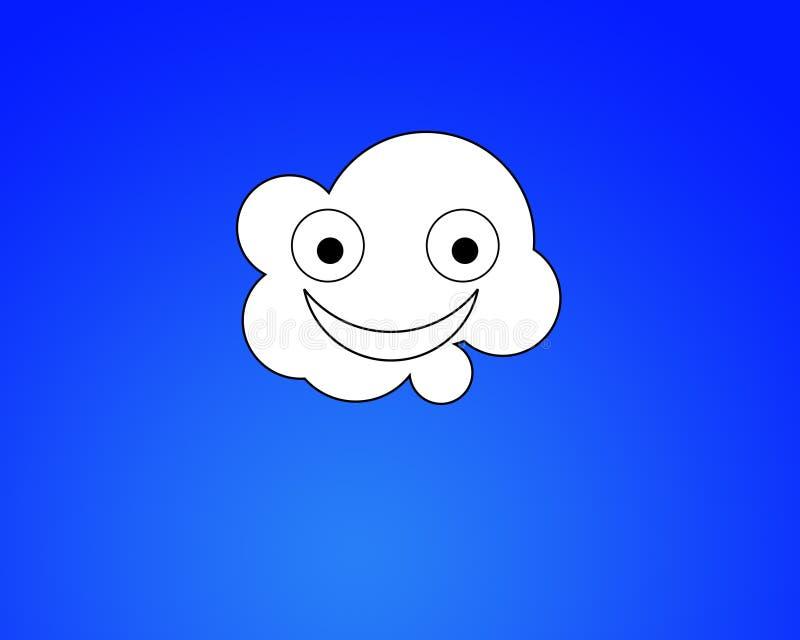 Szczęśliwa Chmura ilustracji