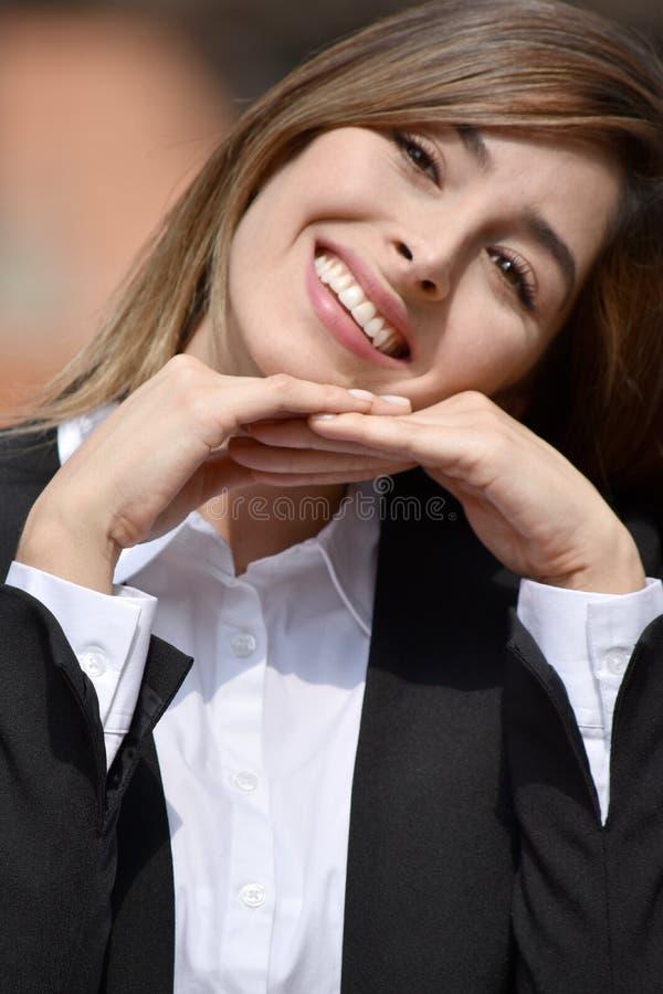 Szczęśliwa Dorosła Kolumbijska osoba obraz stock