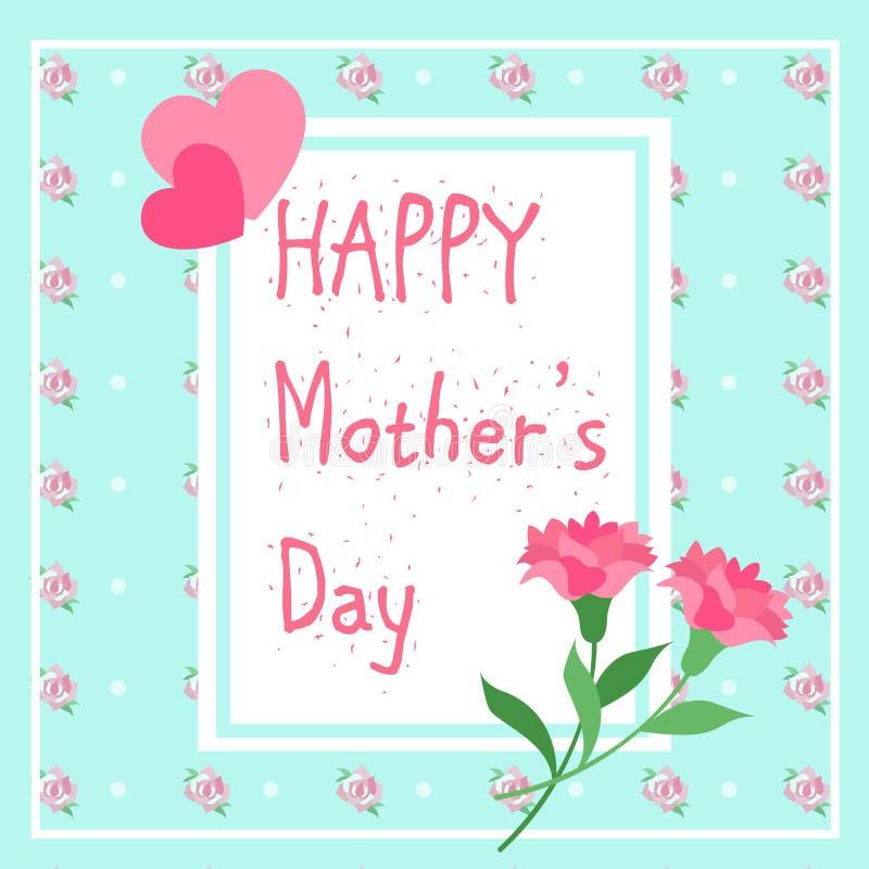 szczęśliwa dzień matka ilustracji