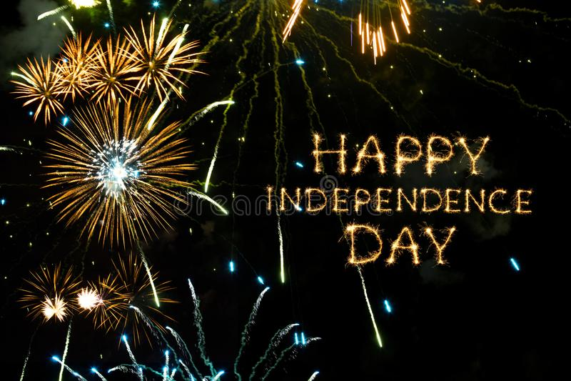 szczęśliwa dzień niezależność zdjęcia royalty free