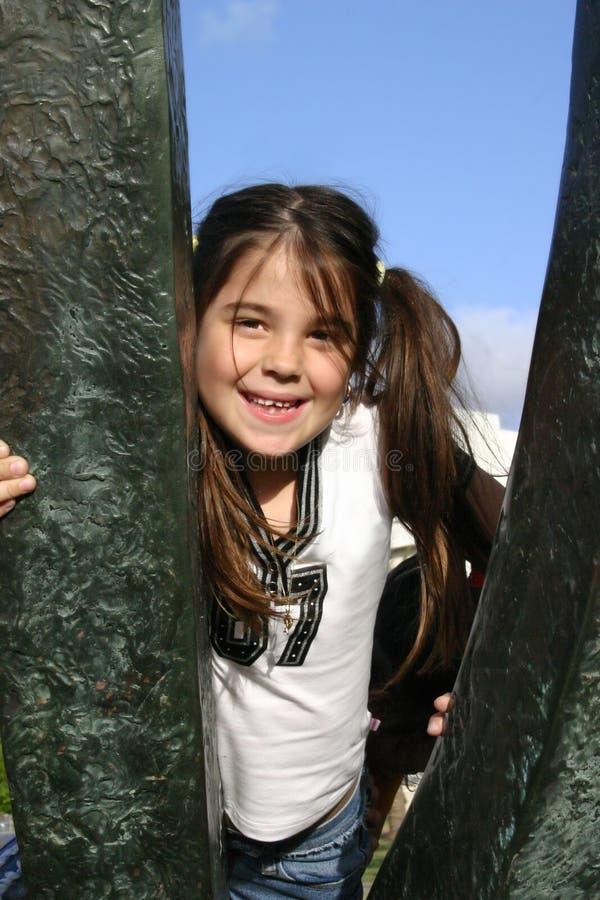 Download Szczęśliwa dziewczyna obraz stock. Obraz złożonej z oczy - 112159