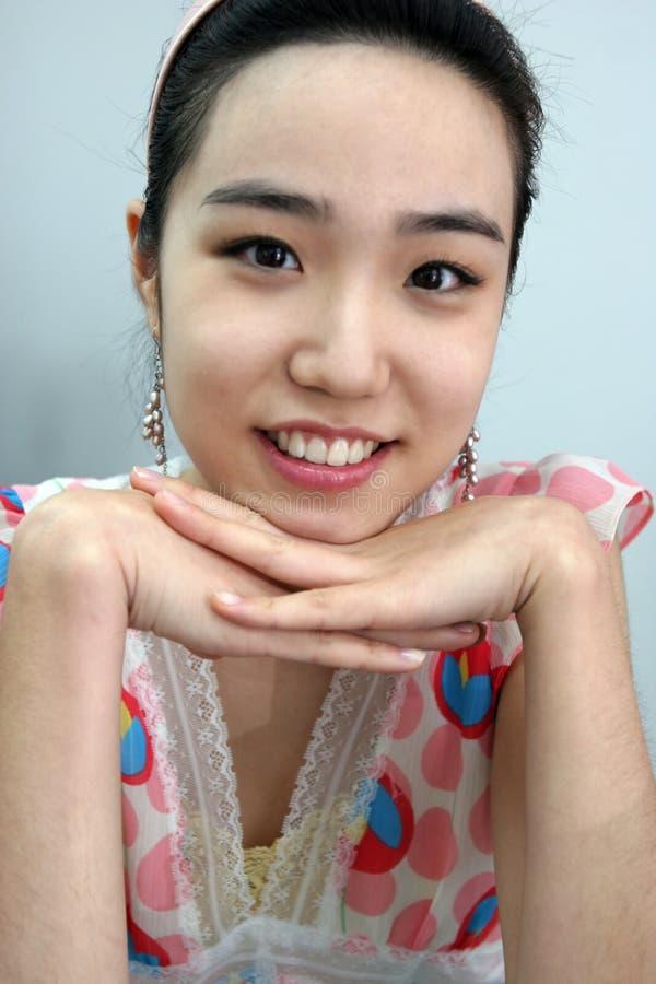 szczęśliwa dziewczyna zdjęcie royalty free