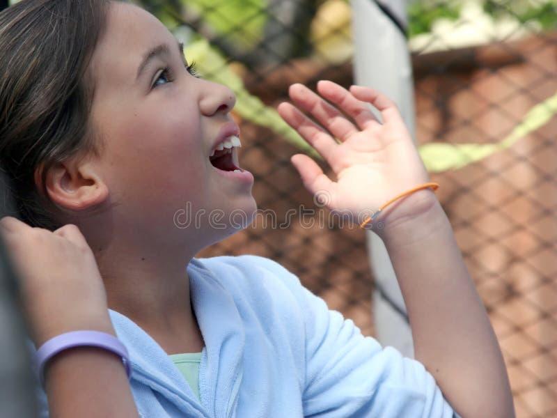szczęśliwa dziewczyna obrazy stock