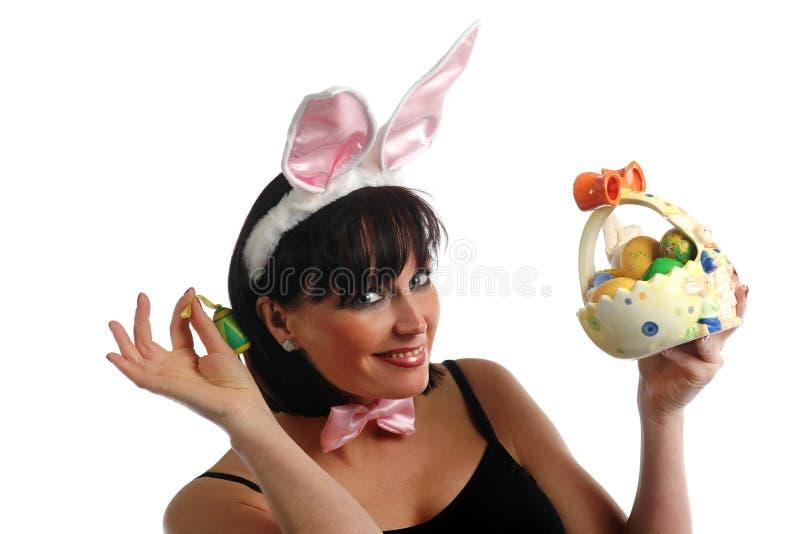 Szczęśliwa Easter dziewczyna obrazy stock