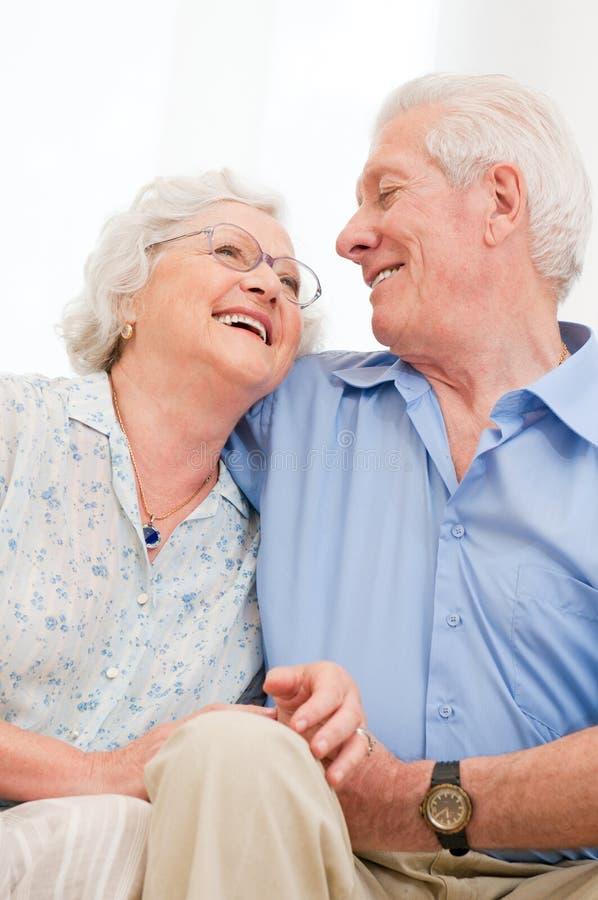 Szczęśliwa emerytura obraz royalty free
