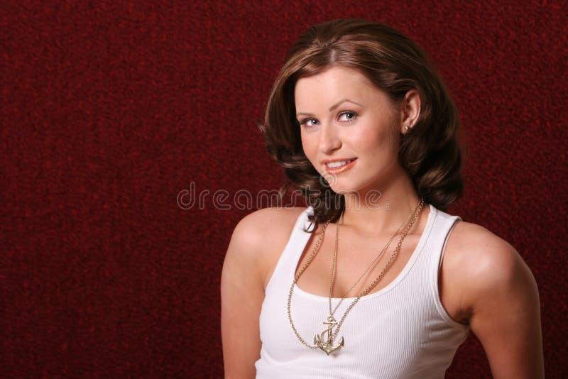 szczęśliwa kobieta fotografia royalty free