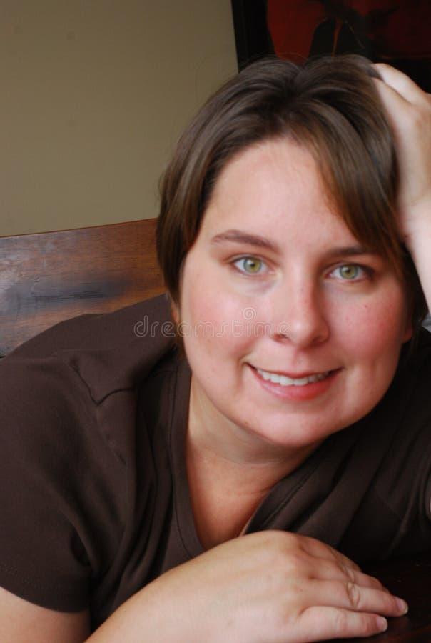 szczęśliwa kobieta zdjęcia stock